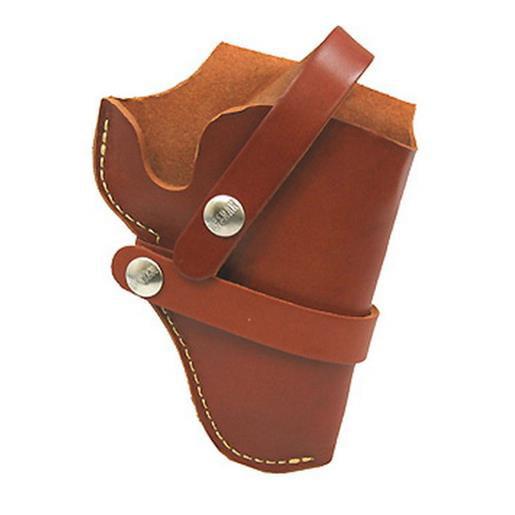 Hunter 1100 Series Belt Holster Right Hand For Ruger Alaskan Leather Brown