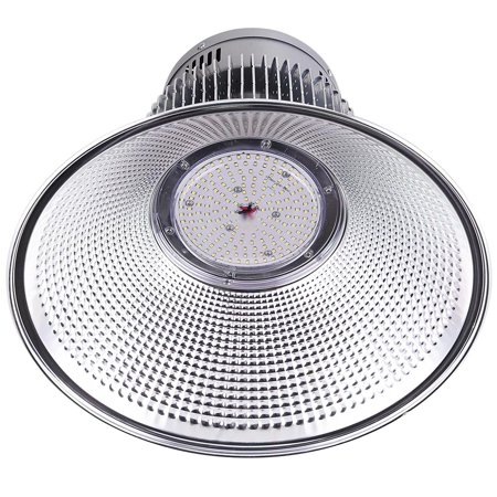 "DELight 2Pcs 150W 18"" LED High Bay Light 16000lm 6000K-6500K with Heat Sink Factory Industry Lighting Feature"