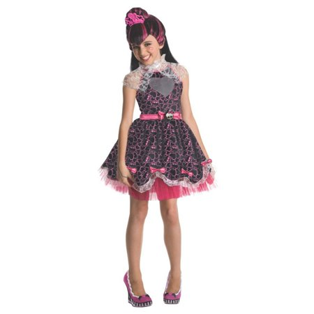 Halloween Monster High Deluxe Draculaura Child Costume - Halloween Monster High Party