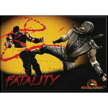 Mortal Kombat Sub Zero & Scorpian Fatality Magnet 29928MK (Sub Zero Mortal Kombat Halloween Costume)