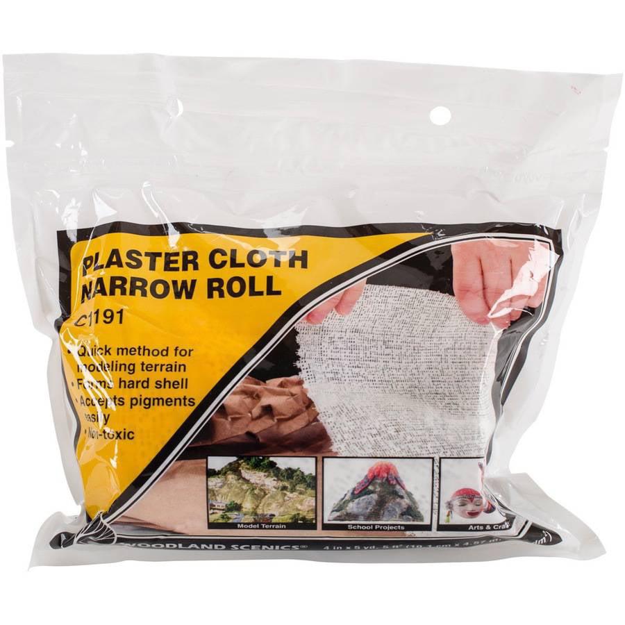 "Plaster Cloth Roll, 4"" x 180"""