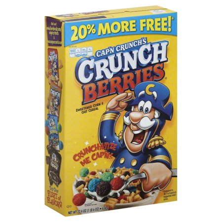 captain crunch with berries
