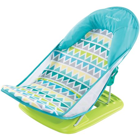 Baby Bathtub Stand - Summer Infant Deluxe Baby Bather, Triangle Stripe