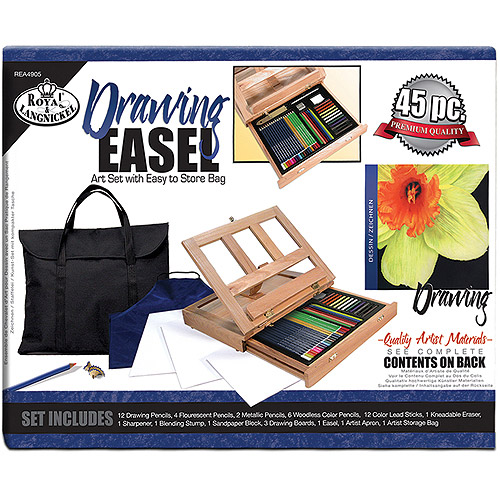 Royal Langnickel Artist Kit With Desk Easel, Drawing