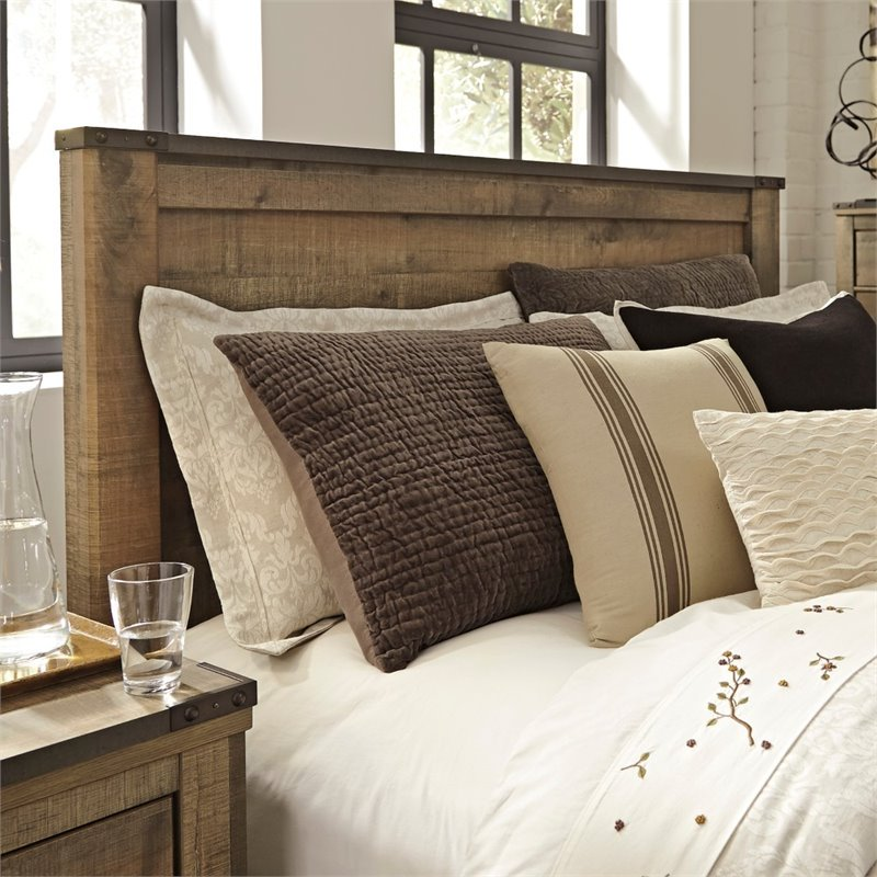 Ashley Trinell Queen Panel Headboard in Brown by Ashley Furniture