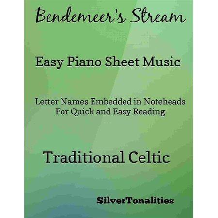 Bendemeer's Stream Easy Piano Sheet Music - eBook](Halloween Music Stream)