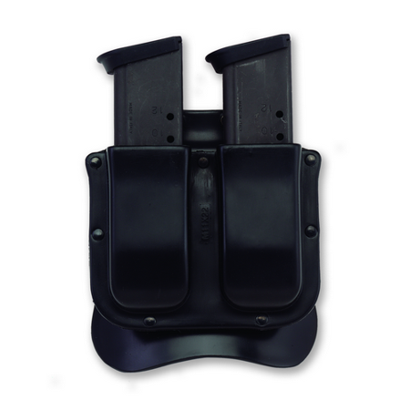 Galco Single Mag Case - Galco M11X Matrix Double Mag Case H&K Hk45 Black M11X28