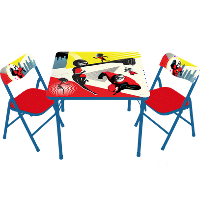 Incredibles 2 Erasable Activity Table and Chairs