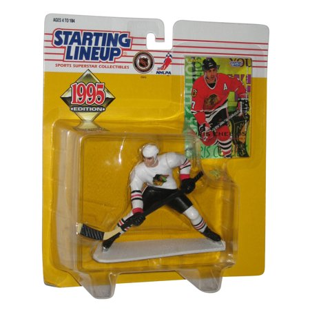 Chris Chelios Nhl (NHL Hockey Starting Line Up Chris Chelios (1995) Action Figure w/)