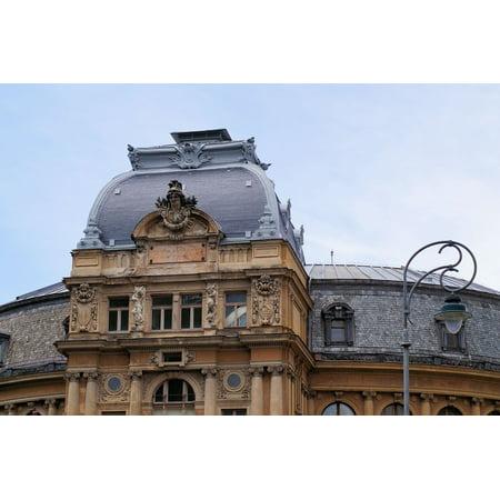 Framed Art for Your Wall Art Nouveau Building Opera Baroque Neo-Baroque 10x13 Frame