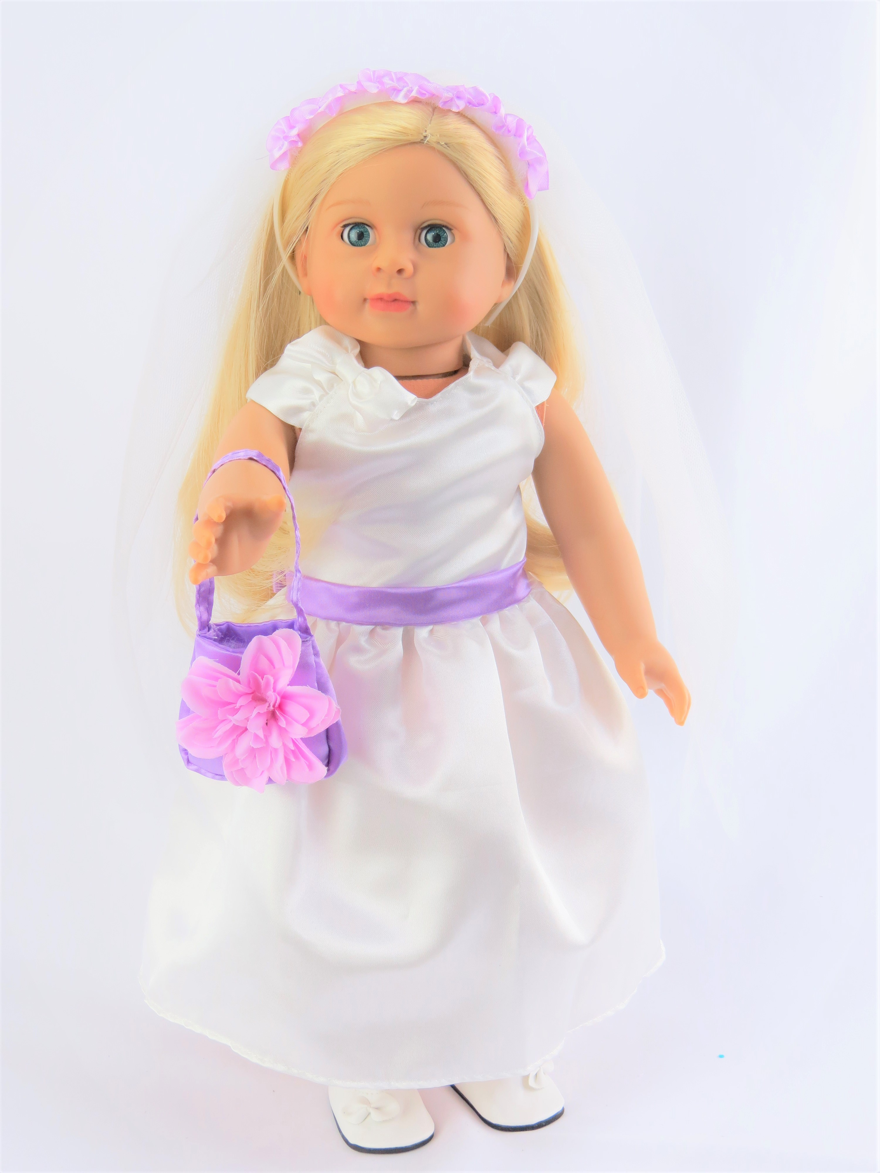 """Little Flower Girl with shoes