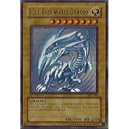 Yu-Gi-Oh! - Blue-Eyes White Dragon (SDK-001) - Starter Deck Kaiba - Unlimited Edition - Ultra Rare - image 1 of 1