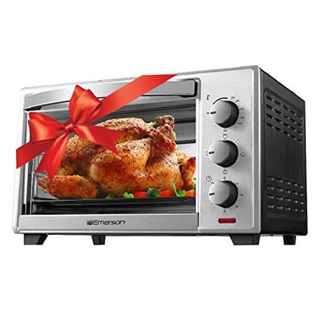 6 Slice Convection & Rotisserie Countertop Toaster Oven