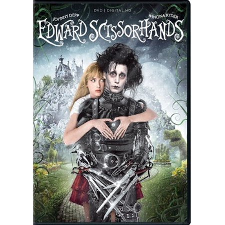 Edward Scissorhands (DVD)](Edward Scissorhands Halloween Makeup)