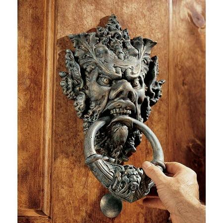 Fi Tuscan Iron - Classic Antique Replica Tuscan Estate Authentic Iron Doorknocker