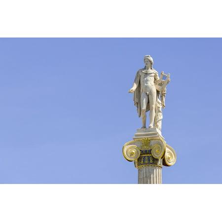 Laminated Poster Greece Europe Statue Greek God Athens Apollo Poster Print 11 x 17