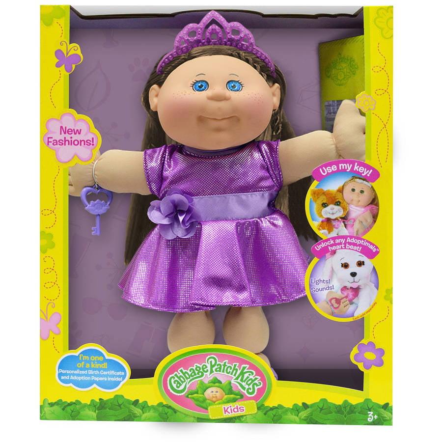 Cabbage Patch Kids Glitz Doll, Brown Hair/Blue Eye Girl