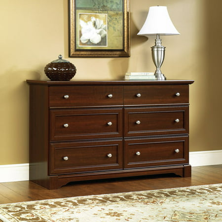 cherry bedroom set. Palladia Dresser Sauder 4 Piece Bedroom Set  Cherry Walmart com
