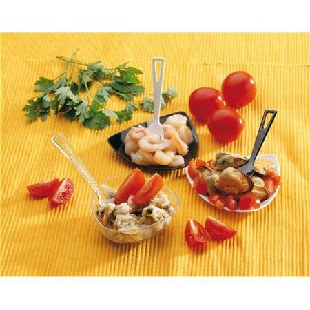 Paderno World Cuisine 48362 01 Plastic Disposable Appetizer Forks   Pack Of 500