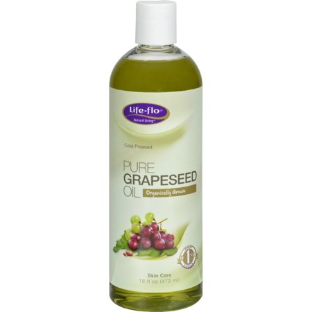 Life-Flo Pure Grapeseed Oil Organic - 16 fl oz
