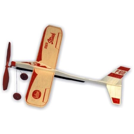 Strato Streak Rubber Band Powered Glider -