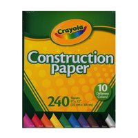 Construction Paper Pads 240 sheets (pack of 6)