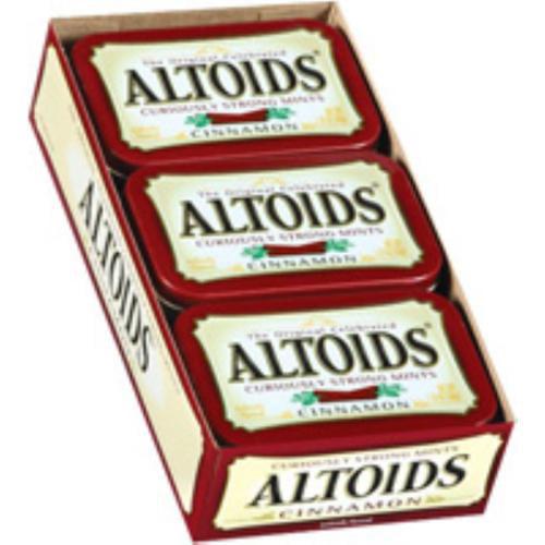 Altoids Tin Cinnamon 12 packs (1.7 oz per pack) (Pack of 2)