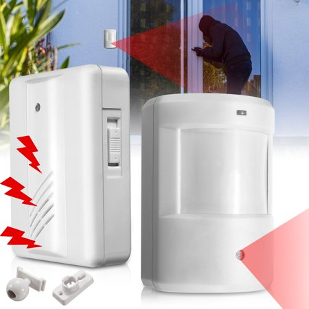 Driveway Patrol Garage Motion Sensor homesecurity Alarm Infrared Wireless Alert Secure System