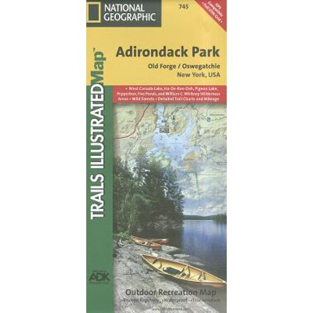 Shopping In Pigeon Forge (National Geographic Maps: Trails Illustrated: Old Forge, Oswegatchie: Adirondack Park - Folded)