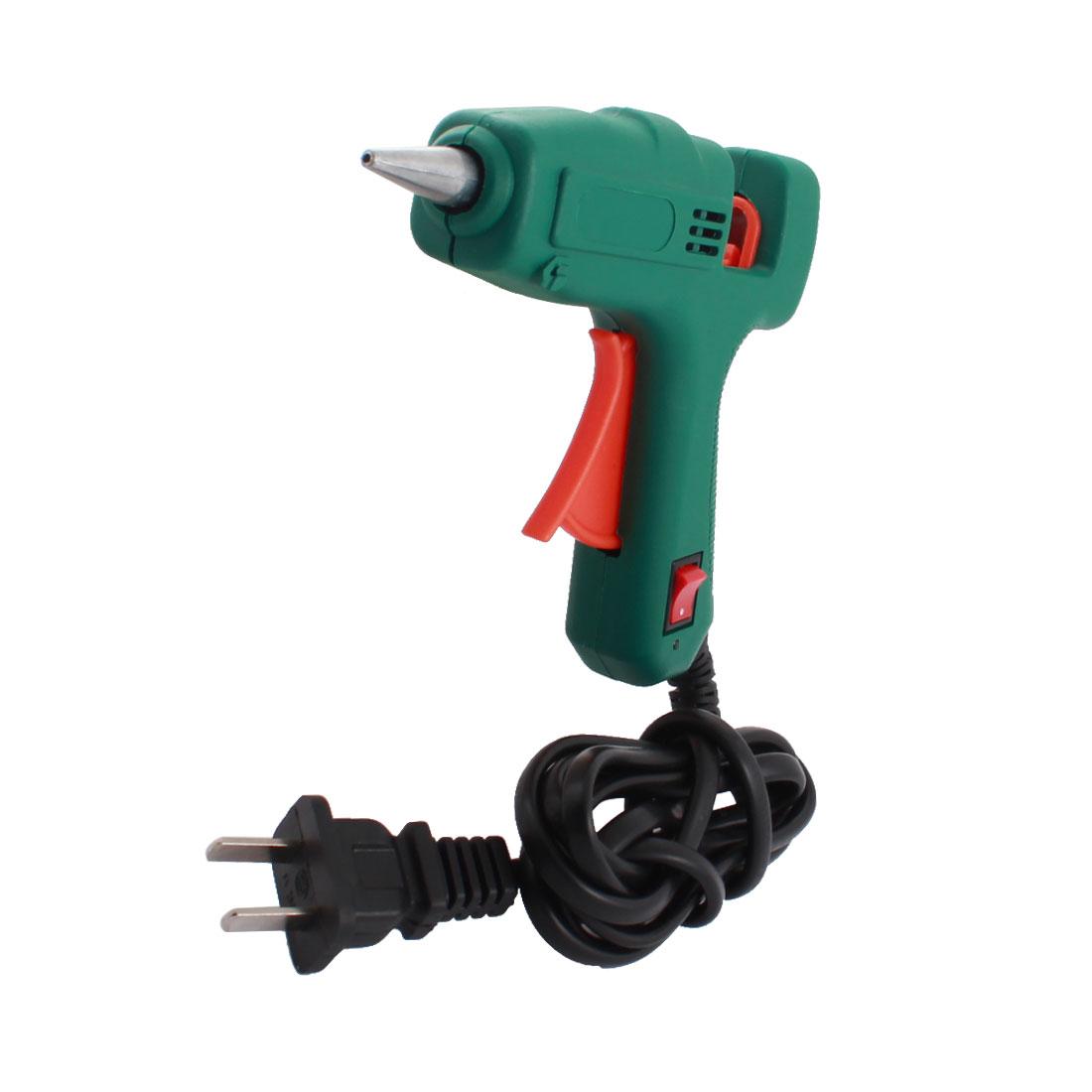 AC 100-240V US Plug 25W Hot Melt Glue Gun w On off Control Switch by