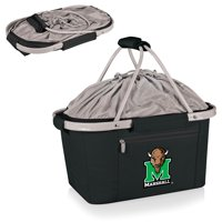 Marshall Thundering Herd Metro Basket Collapsible Tote - Black - No Size