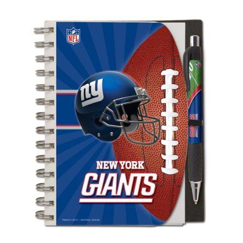 12020-QUS New York Giants Pocket Notes Team Colors