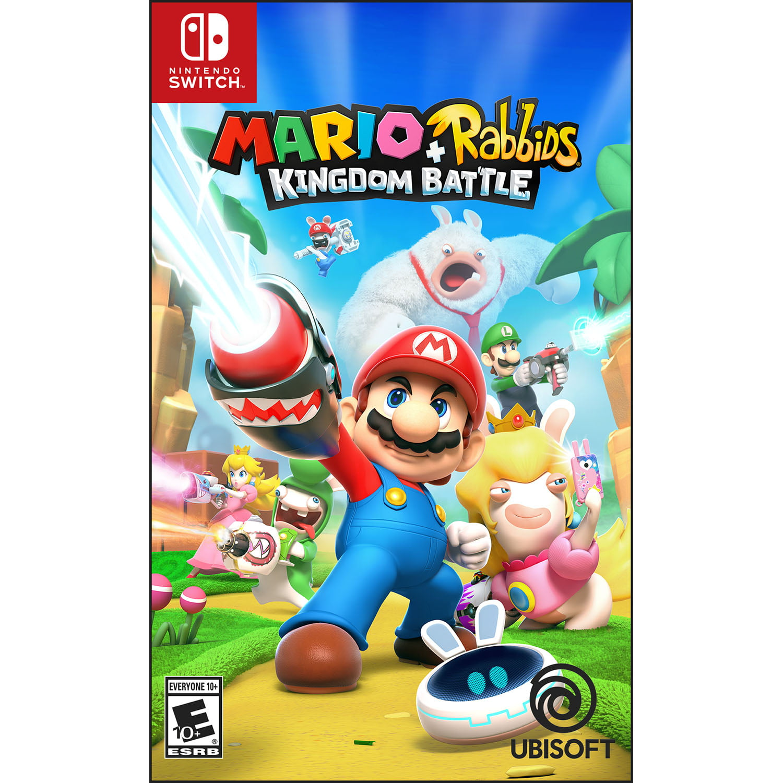 Mario + Rabbids: Kingdom Battle, Ubisoft, Nintendo Switch, Preowned Refurbished by Ubisoft
