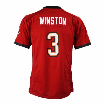 a2bb0565a58 Jameis Winston Tampa Bay Buccaneers NFL Nike Red NFL NIKE Game Team WINSTON  JAMEIS RED Jersey For Youth - Walmart.com