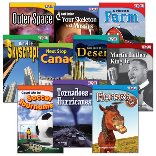 TIME FOR KIDS(R) Nonfiction Readers Grade 2 Set 2 (10-Book Set)
