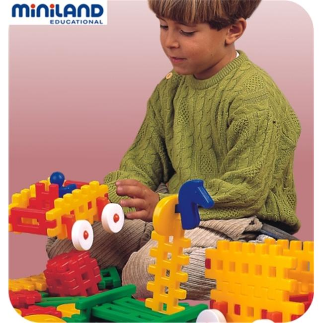 Miniland Educational 32510 Grandote- 80 pieces- container