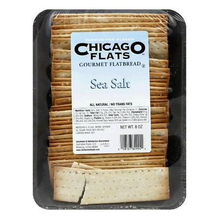 - Chicago Flats Sea Salt Flatbread, 8 oz (Pack of 10)