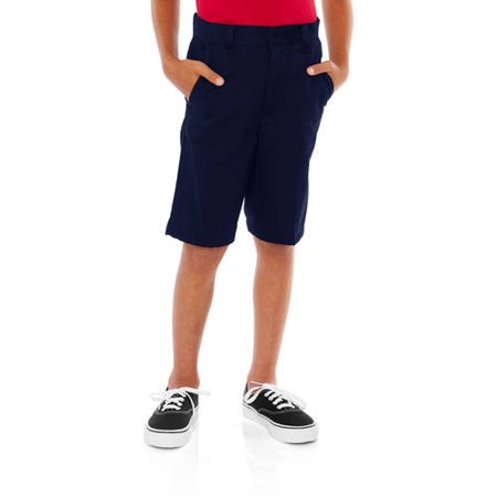 George Boys School Uniforms Flat Front Shorts