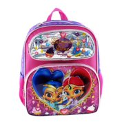 """Backpack - Shimmer and Shine - Ice Cream 16"""" New 009083"""