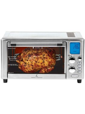 Emeril Lagasse - Air Fry Toaster Oven - Brushed Stainless Steel