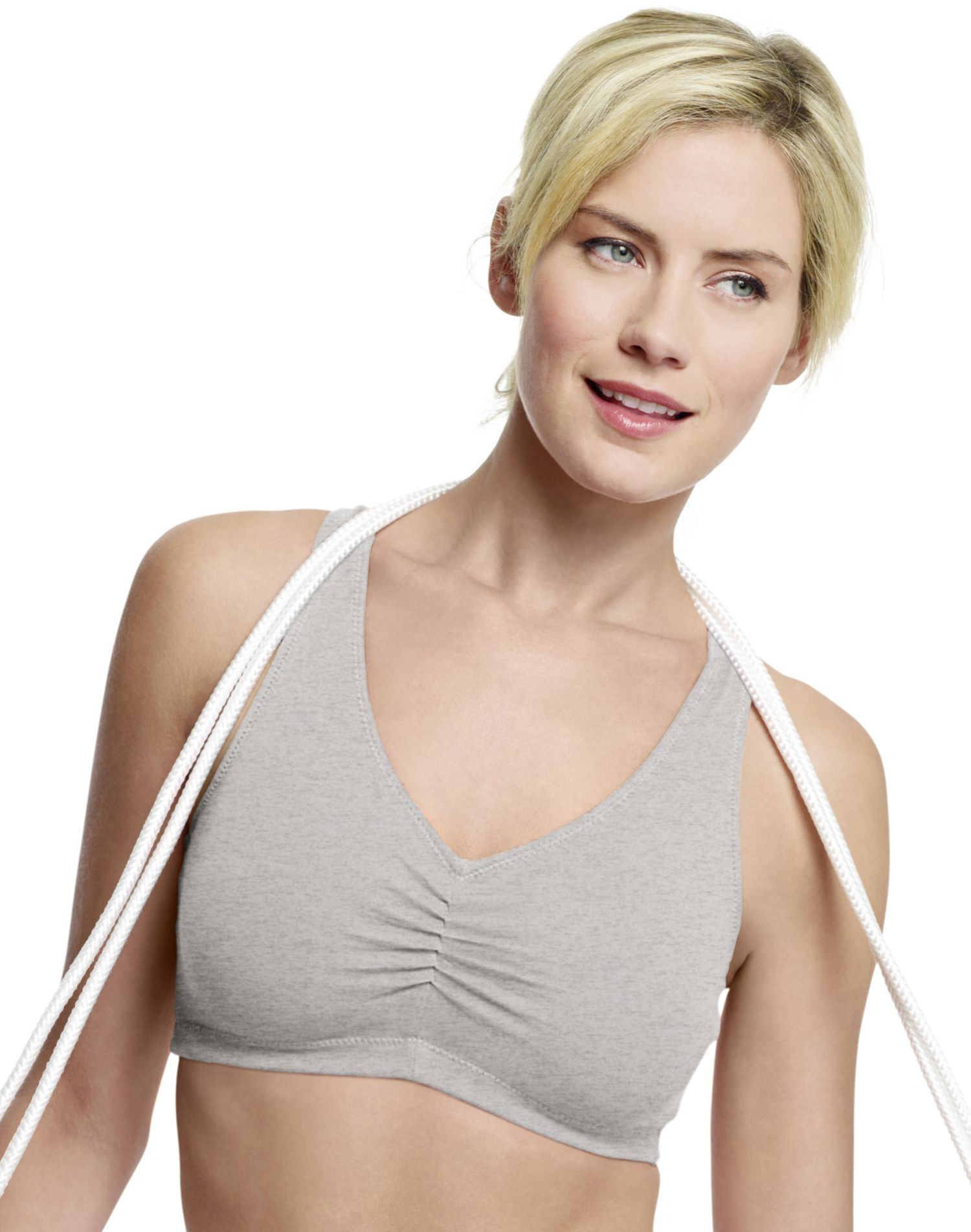 a5179fb6770 Hanes H570 Womens Stretch Cotton Sport Top Size Large