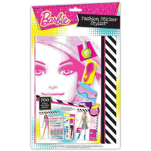 Barbie Fashion Sticker Stylist Set