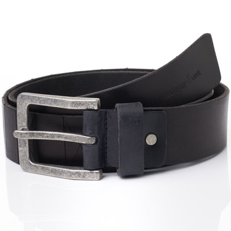 Hammer Anvil Mens Genuine Leather 38 MM Casual Jean (Best Leather Belt For Jeans)