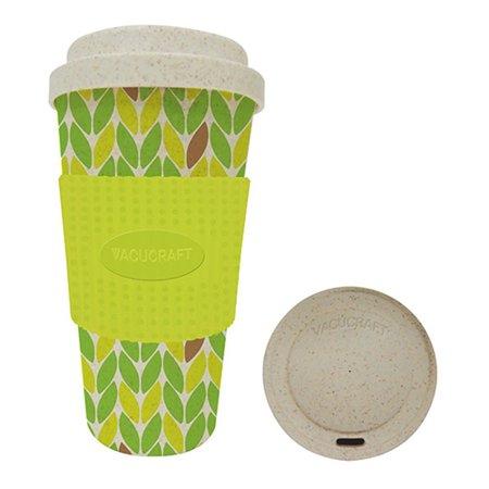 Vacucraft Chai Bamboo Fiber Coffee & Tea Cup, 20 - Bamboo Cup