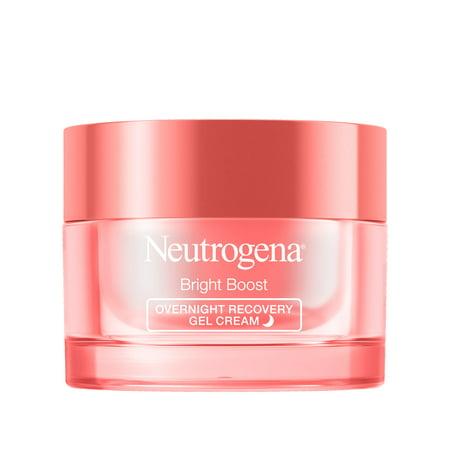 Neutrogena Bright Boost Brightening Night Gel Cream, 1.7 oz
