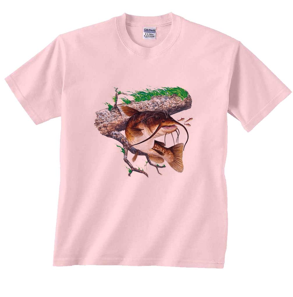 Brown Bullhead Catfish Fishing T-Shirt