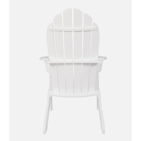 Mainstays Wood Adirondack Chair White Estoreinfo