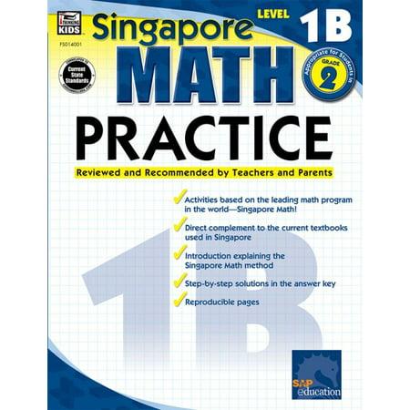 Singapore Math Practice, Level 1B