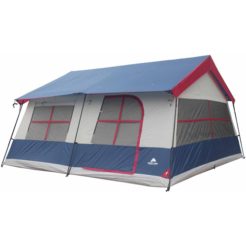 Ozark Trail 3-Room Vacation Home Tent  sc 1 st  Walmart : waterproof tent walmart - memphite.com