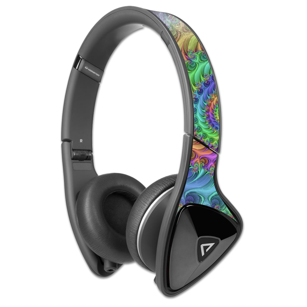 MightySkins Protective Vinyl Skin Decal for Monster DNA Headphones wrap cover sticker skins Tripping